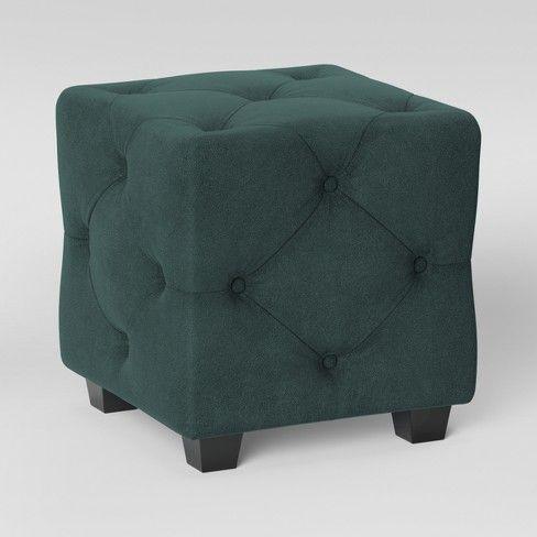 Excellent Lark Tufted Velvet Ottoman Opalhouse Target In 2019 Uwap Interior Chair Design Uwaporg
