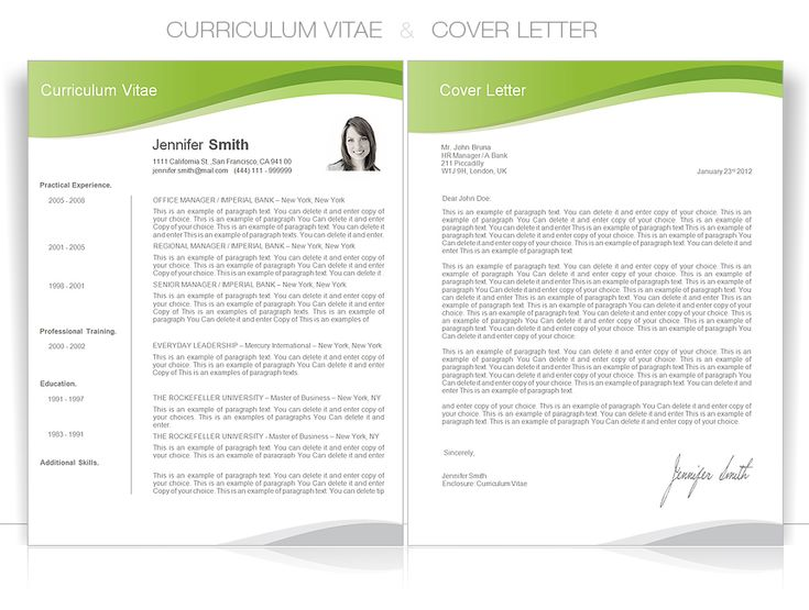 how to make a professional resume and cover letters