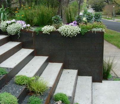 jardineras de concreto y piedra para tu jardn llmanos realizamos tu cotizacin gratis pregunta por nuestros descuentos sigue nuestra fan pau