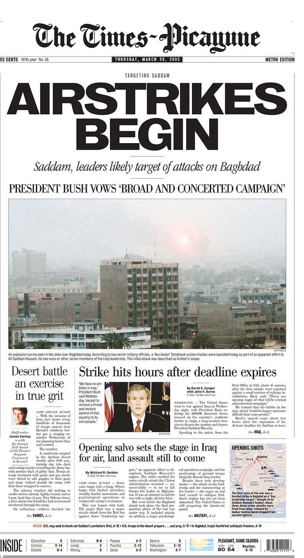 iraq present press articles