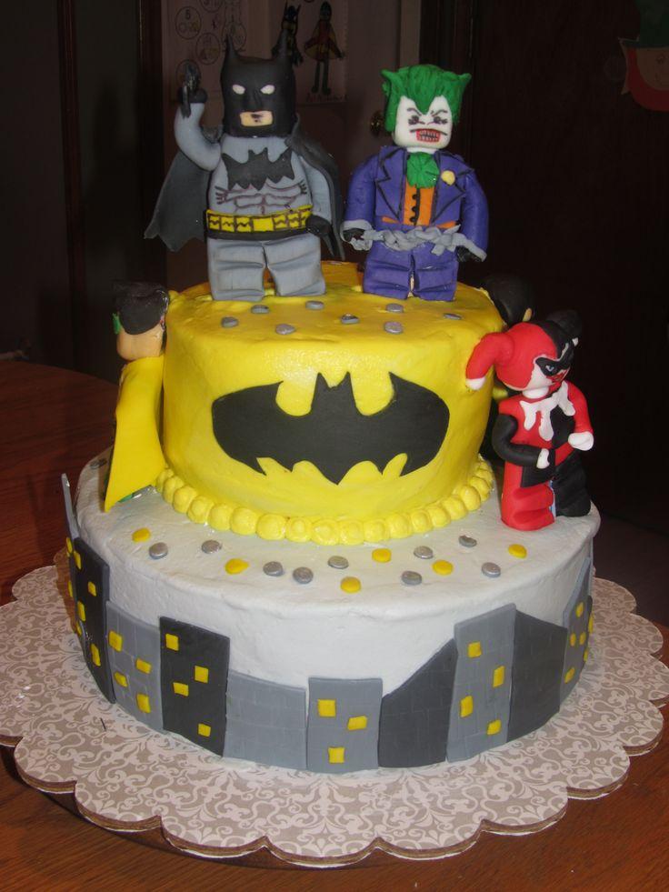 Best Lego Batman Birthday Images On Pinterest Lego Batman - Lego batman birthday cake