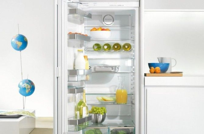 Meer dan 1000 idee n over koelkasten op pinterest schoonmaken retro koelkast en rvs koelkast - Woonkeuken american ...