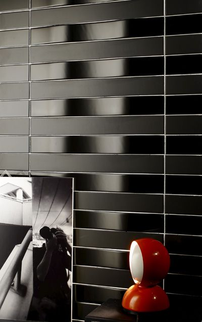 Nice Black Wavy Tiles, Made In Itlay, By Self Design!