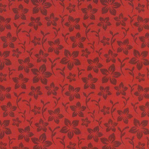 NA15 - Floral Vermelho Fabricart Tecidos