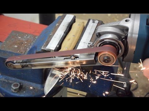 Fingerschleifer bauen | Winkelschleifer Hack | Anleitung Metallprojekt DIY | langes Video - YouTube