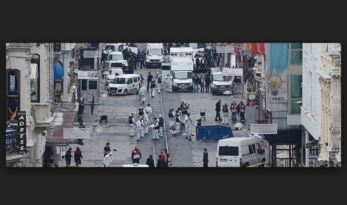 İstiklal'de saldırgan canlı bombanın kimliği belirlendi...