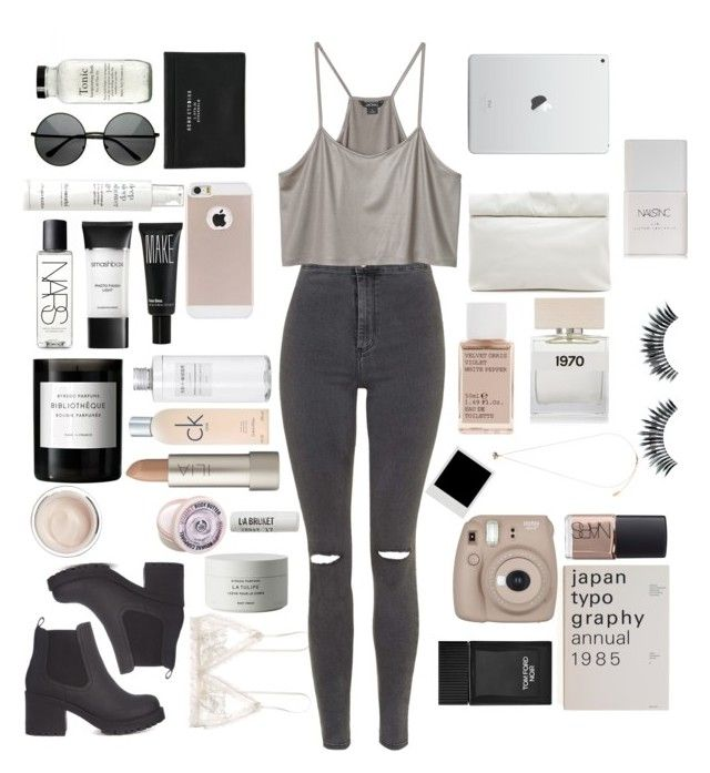 """""""Untitled #23"""" by mollzhav on Polyvore featuring Hanky Panky, Topshop, Monki, Nails Inc., Marie Turnor, Acne Studios, Korres, Bella Freud, Napoleon Perdis and Tom Ford"""