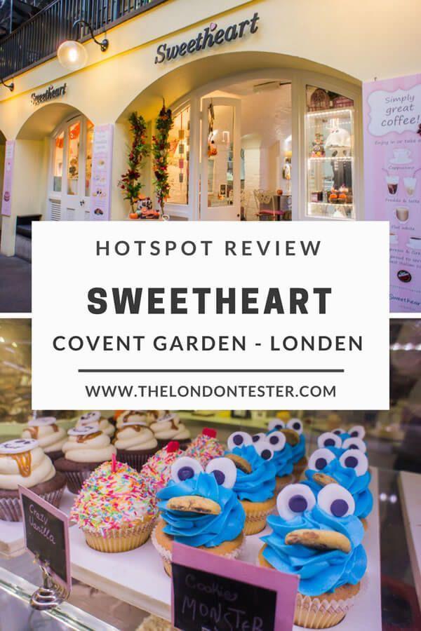 Sweetheart Cupcakes Londen: Een Zoete Pitstop in Covent Garden || The London Tester