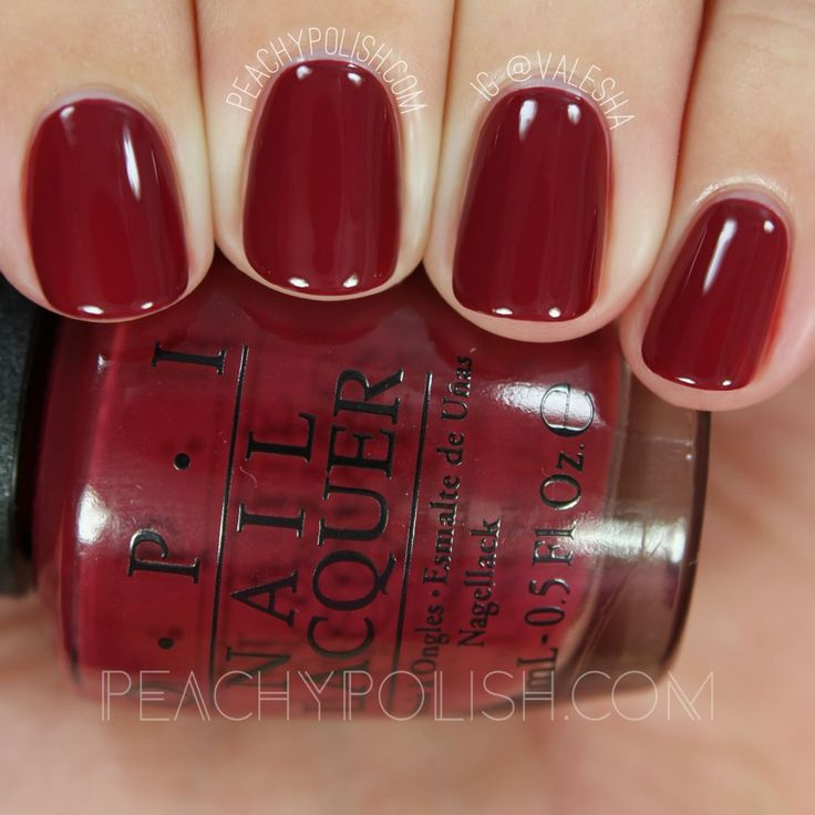OPI We The Female | Fall 2016 Washington D.C. Collection | Peachy Polish