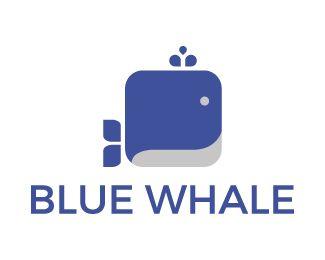 Logo Design - Blue whale