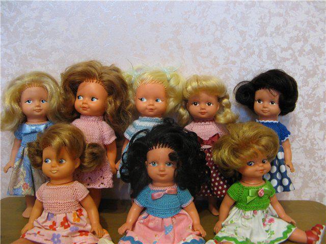 Мои винтажные куколки / Куклы и игрушки нашего детства / Бэйбики. Куклы фото. Одежда для кукол