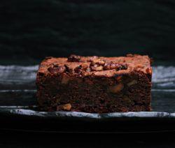 Chocolate and Walnut Brownie