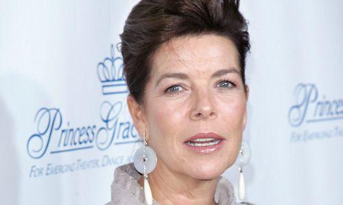 Köchert earrings -Caroline von Monaco trägt Wiener Schmuck - Schaufenster