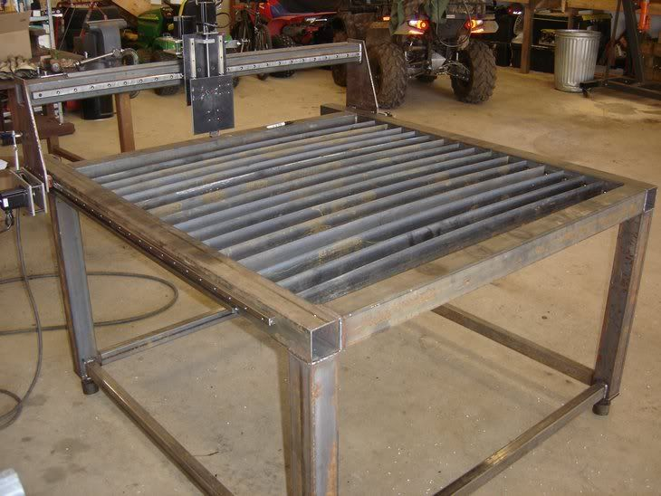 how to build a water table for plasma cutter