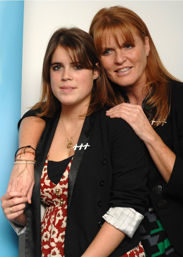 Princess Eugenie Of York And Sarah Duchess Of York