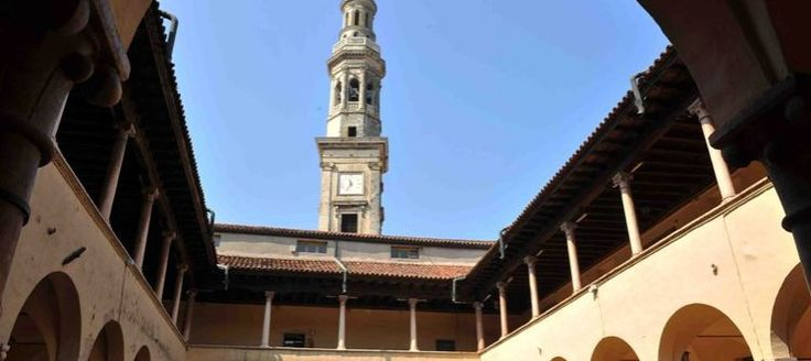 """The first Palace of Bishops is documented in 1231, a few years after the """"contract"""" of 1207, by which the City of Verona ceded the land to the bishopric of Monteforte in exchange for Legnago, Tregnago, Roverchiara and other locations."""
