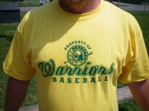 Wallaceburg Warriors T-Shirts Now Available