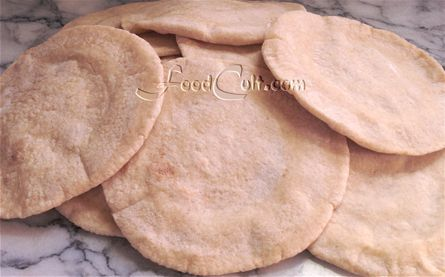 Why #pita? No #addedsugar + #simpleingredients - #flour, water #yeast + #salt (#saltfree but won't taste as good). These are #homemade #organic light #wholewheat #pitas + are made on the #stovetop - not #baked. #bakeries use a #pitatunnel (a conveyor belt which moves the #bread through an #oven much like some commercial #pizza #ovens). I prefer, for home a #heatdiffuser or use a #pan or even a #pizzapan inverted over a #springform ring without the bottom.  #recipes…