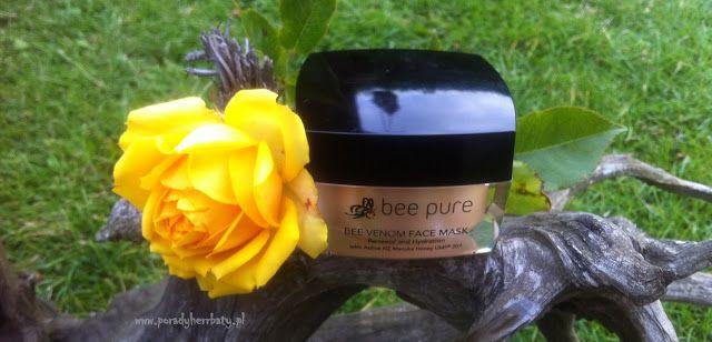 Porady Herrbaty : Jadowita pielęgnacja twarzy - BEE PURE BEE VENOM FACE MASK