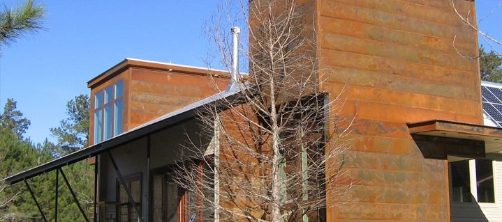 Rustwall A606 4 Finish Corten Steel Homes Steel Siding