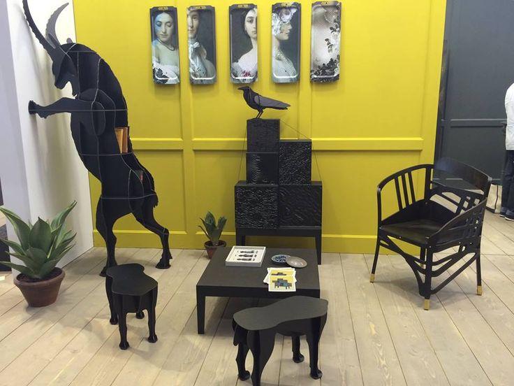 Fausto now in black!  #RADform #newcollection #ibride #modernfurniture #interiordesign #MO14 #parisdesignweek