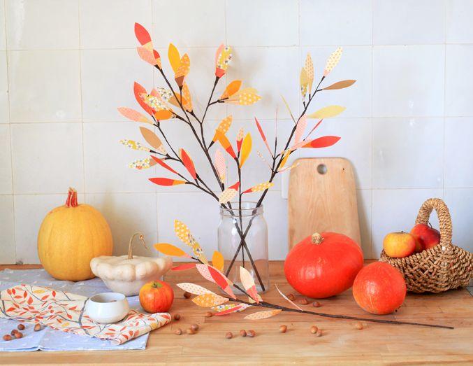 Diy: Ambiance d'automne par Adeline Klam