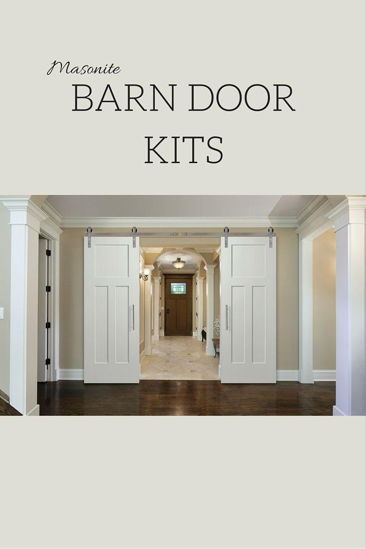 21 best images about masonite barn doors on pinterest for Interior door hardware trends