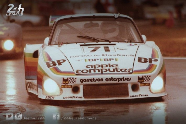 On January 3, 1977, Apple - founded in April of 1976 by Steve Jobs, Steve Wozniak and Ronald Wayne - became a publicly traded company. On June 14, 1980, the #71 Porsche 935 of Dick Barbour Racing took the start at the 24 Hours of Le Mans in the Californian company's colors (retirement).
