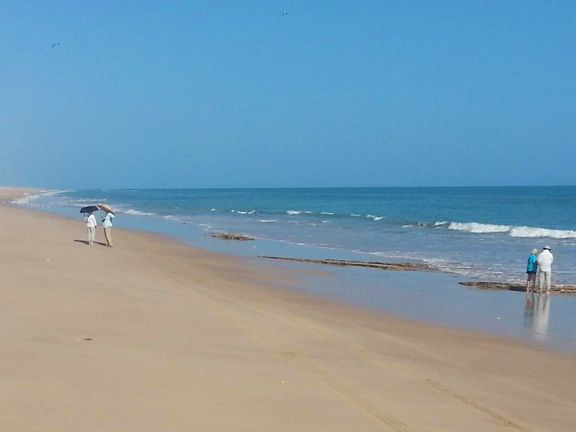 Walking the beach, Oman.