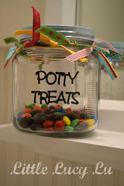 Potty treats - were starting potty training soon