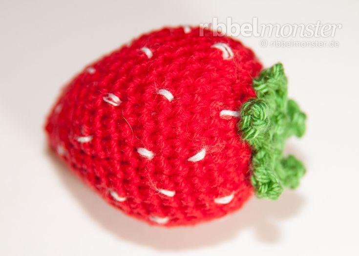 Amigurumi - große Erdbeere häkeln