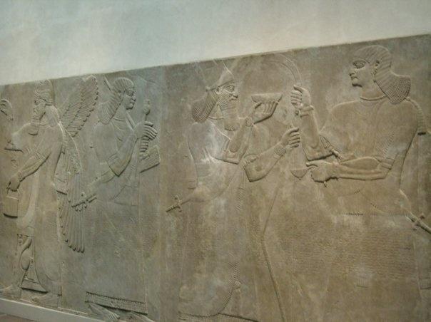 Assyrisch reliëf - Metropolitan Museum