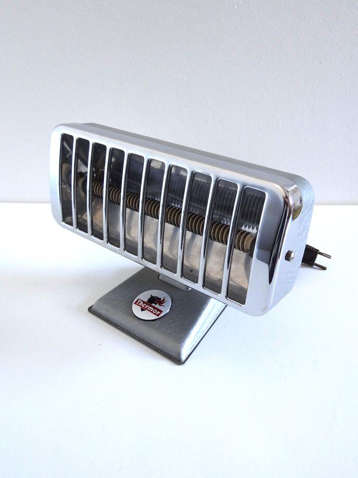 Radiateur d'appoint vintage Thermor années 60 style industriel
