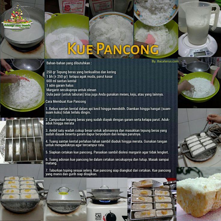 Resep Kue PANCONG/RANGIN/BANDROS❞