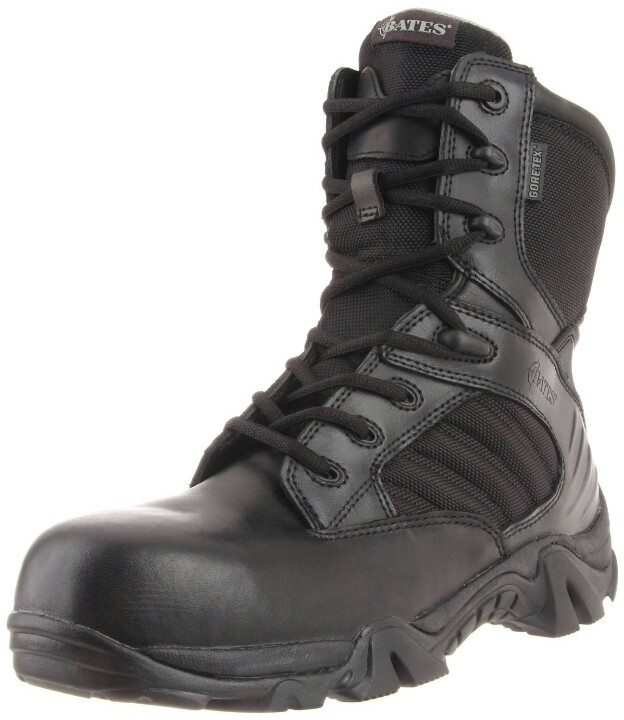 Men\'s Waterproof Bates GX - eight Gore - Tex Safety - toe Duty Boots  protect and serve your feet with assistance and slip - resistance!