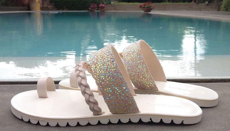 Sofia Manta Creations Genuine Leather Handmade Sandal