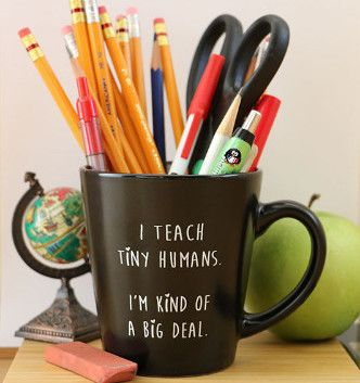 """I'm kind of a big deal"" Teacher Coffee Mug"
