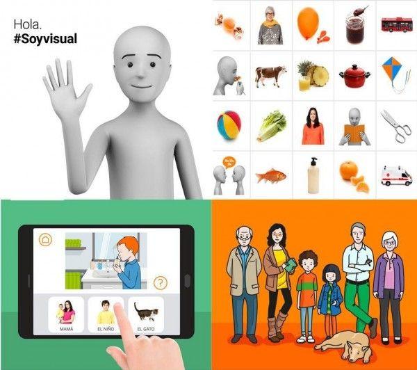 Materiales de #Soyvisual: avatar, fotografías, app y lámina