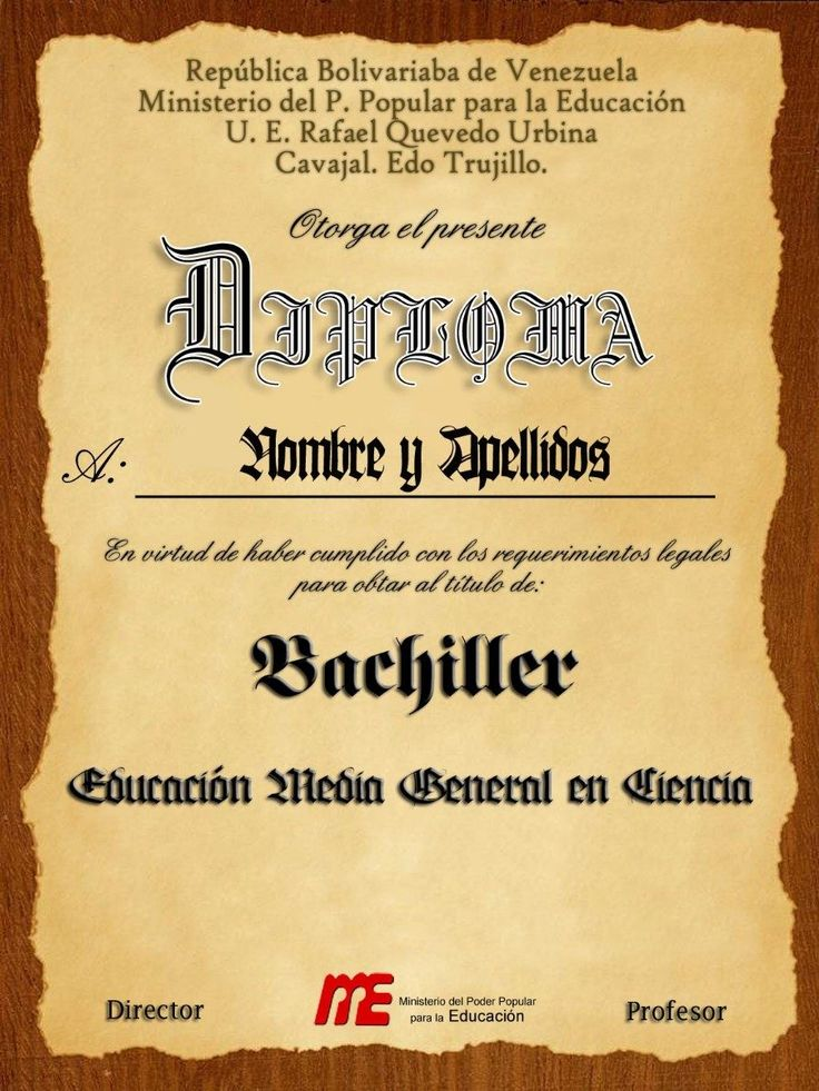 Best 25 Diplomas Editables Ideas On Pinterest Hojas Con