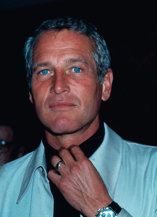 Paul Newman, my vote for all time best looking actor. not to mention how much he gave to others in his lifetime