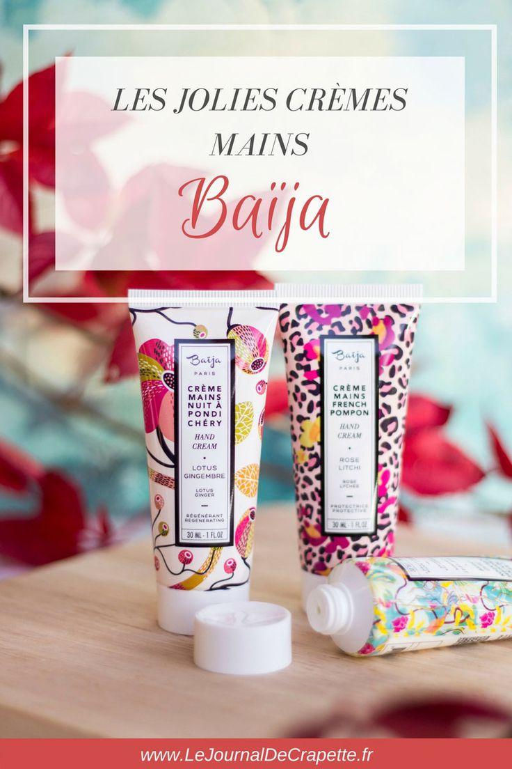cremes-mains-baija #baijacosmetiques #baija