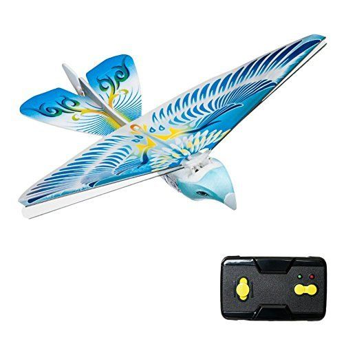 Flying Avitron Bionic Blue Bird Ornithopter RC Remote Control Toy PVC Flying Bird - http://dronescenter.net/flying-avitron-bionic-blue-bird-ornithopter-rc-remote-control-toy-pvc-flying-bird/