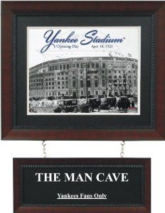 New York Yankees Bedroom Ideas | Sports Outdoors Fan Shop Home Kitchen Decor  Plaques