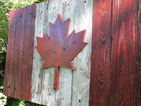 3D Distressed Canadian Flag Canada flag by CraigMoodieDesigns