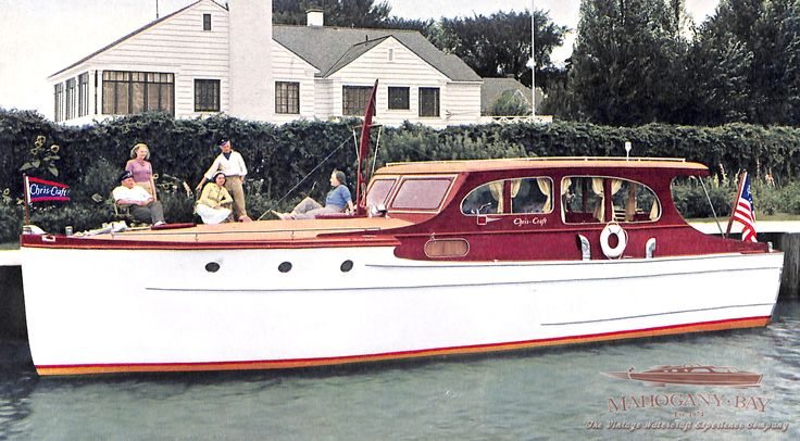 1939 Chris Craft 36' Cruiser   Classic Wooden Boats for Sale   Vintage Chris Craft   Antique Boats