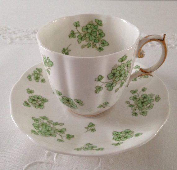 royal-albert-tea-cup-saucer-shamrock