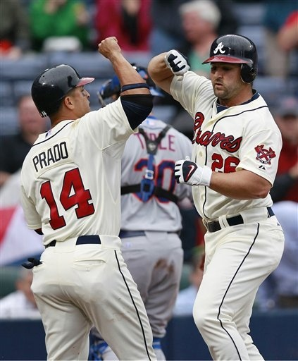 Martin Prado #14 & Dan Uggla #26 two of my favorites!
