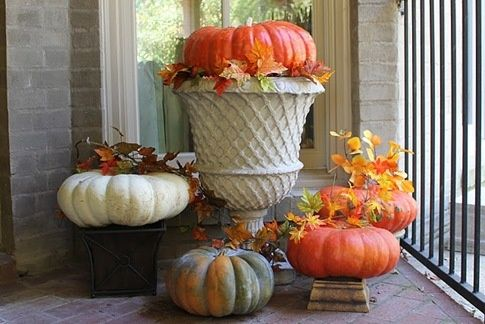 21 best Outdoor Fall Decoration images on Pinterest