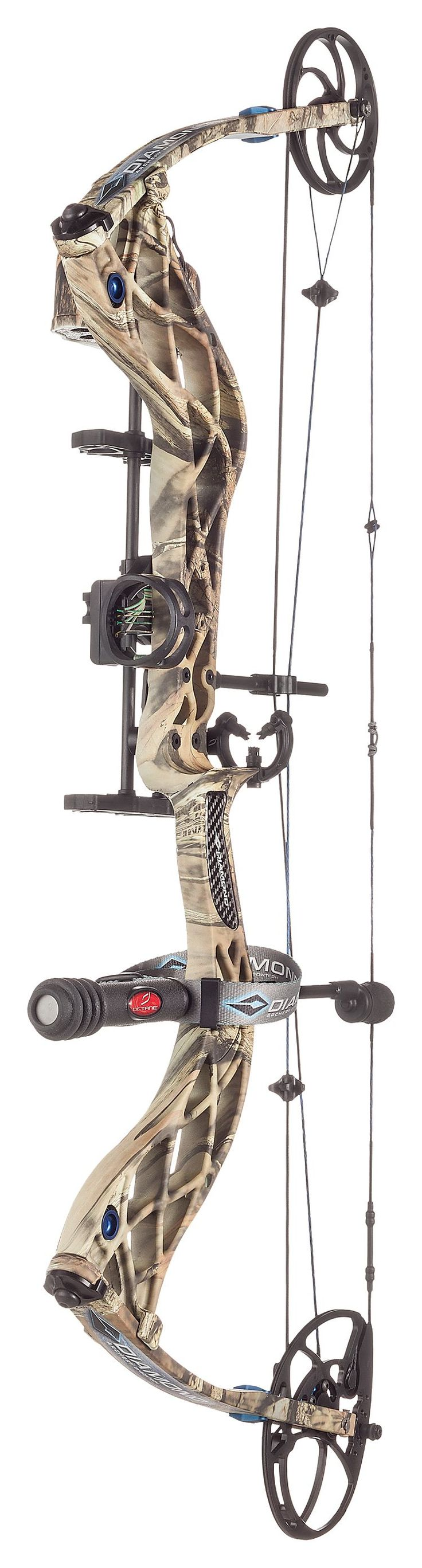 Diamond Carbon Cure R.A.K. Compound Bow Package | Bass Pro Shops