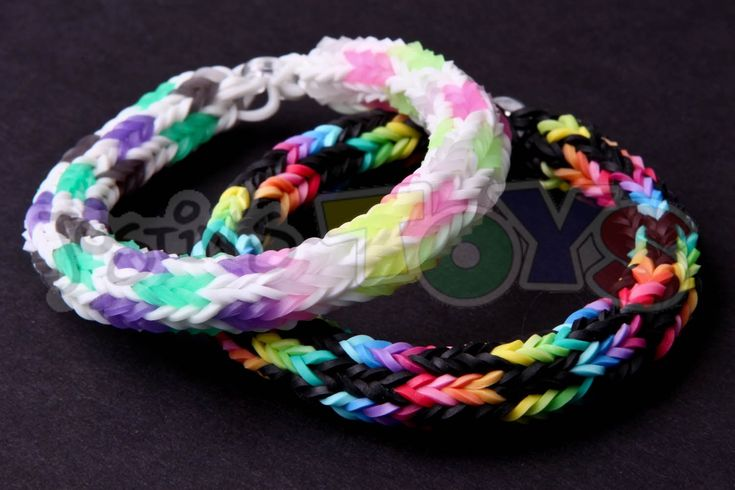 www.justinstoys.com This rainbow loom bracelet was design ...